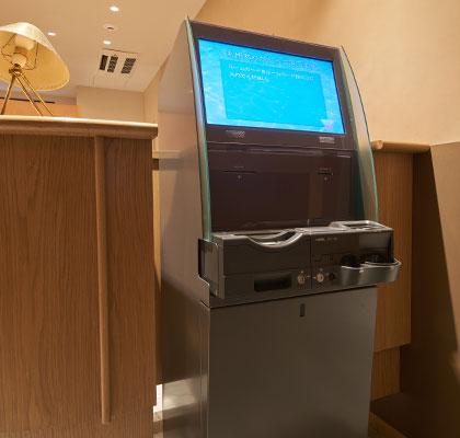 checkout machine